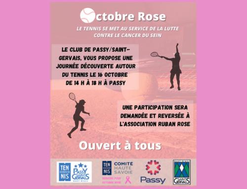 Octobre Rose- Journée découverte samedi 16 octobre